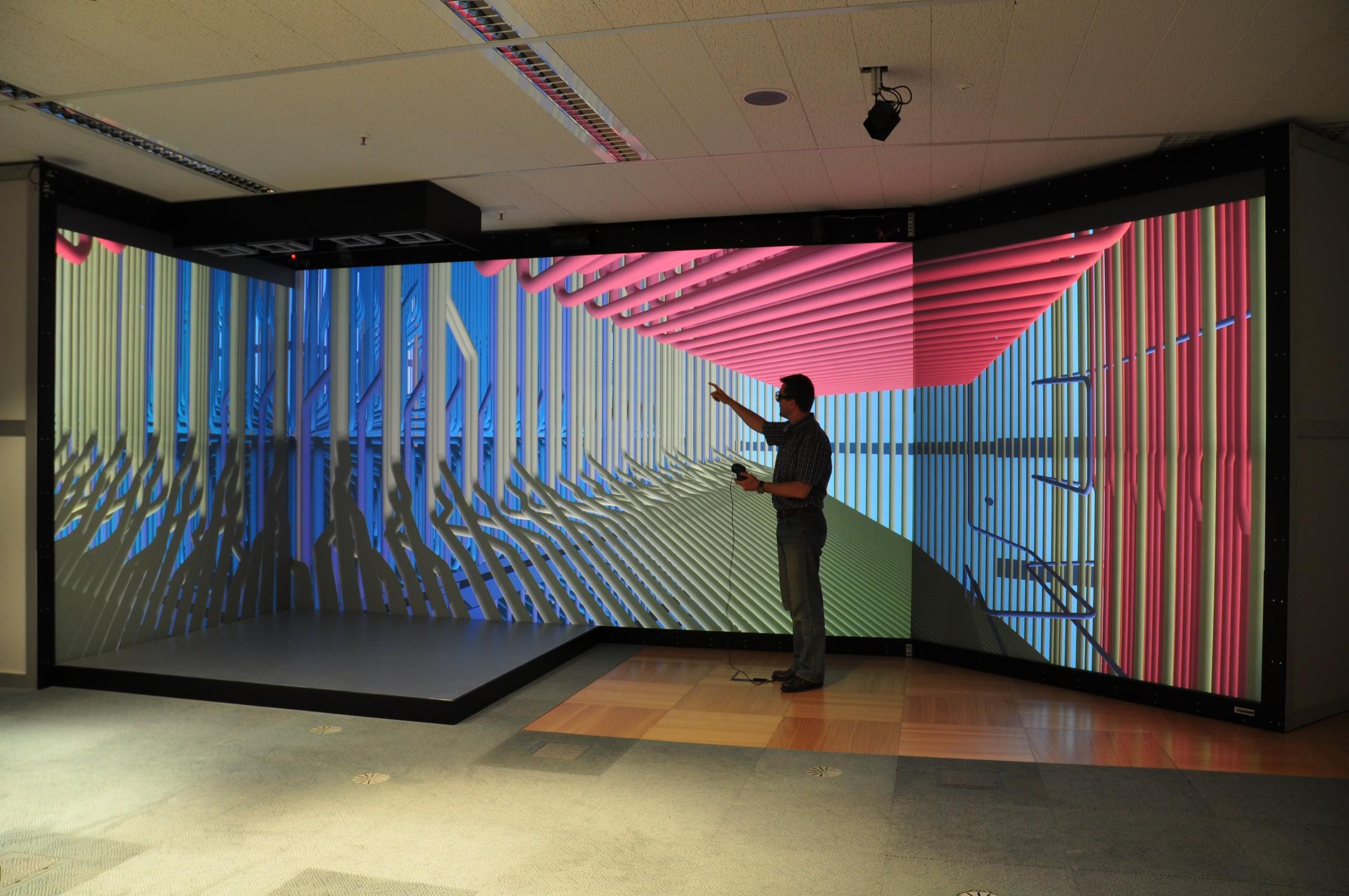 Virtual Reality Vr Cave Viscon