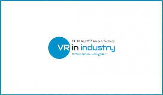VR-Fachkonferenz und -messe VR in Industry