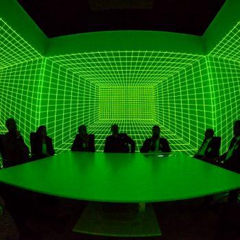 3D-VR-Raum von Viscon für Erhardt + Partner // Rundum-Projektion