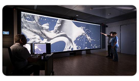 3D-Powerwall Karlsruher Institut für Technologie